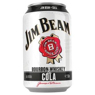 Jim Beam and Cola 4.5% 330ml