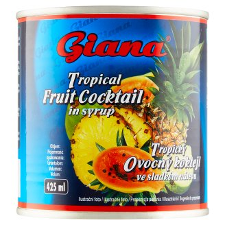 Giana Tropical Fruit Cocktail in Sweet Pickle 425g