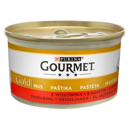 GOURMET Gold Pate with Beef 85g