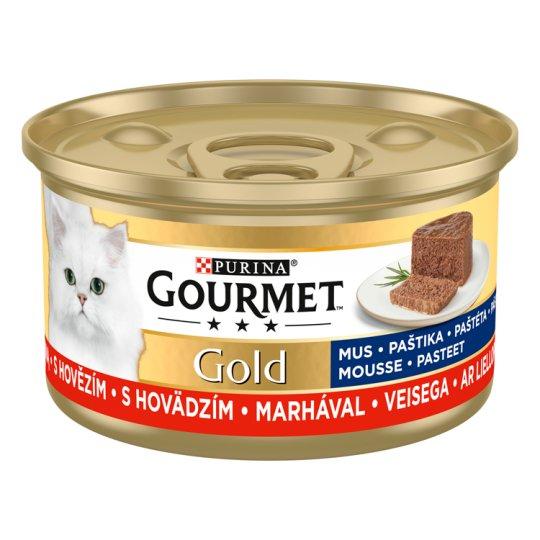 GOURMET Gold paštika s hovězím 85g