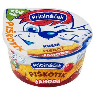 Pribináček Piškotík Jahoda 100g