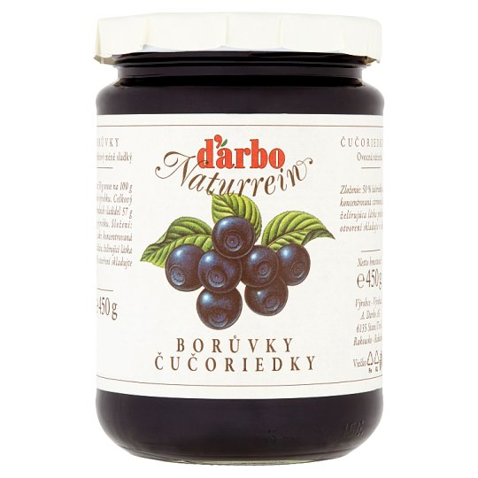 d'arbo Blueberries 450g