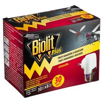 Biolit Plus Elektrický odpařovač s vůní citronelly 31ml