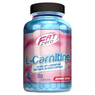 Aminostar FatZero L-Carnitine 80 ks