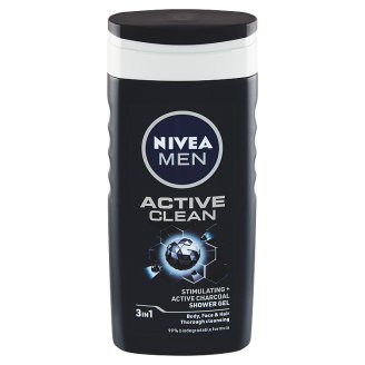 Nivea Men Active Clean Sprchový gel 250ml