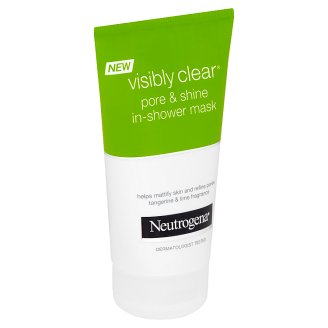 Neutrogena Visibly Clear Pore & Shine pleťová maska do sprchy 150ml