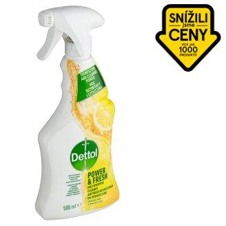 Dettol Power & Fresh Antibacterial Multi-Purpose Spray Lemon & Lime 500ml