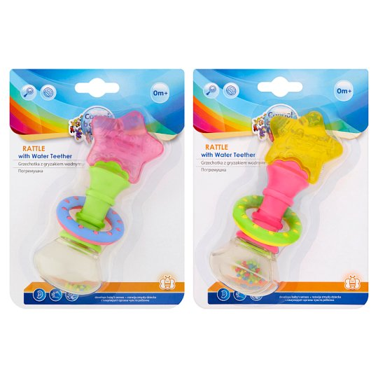 Canpol Babies Rattle with Water Teether 0m+