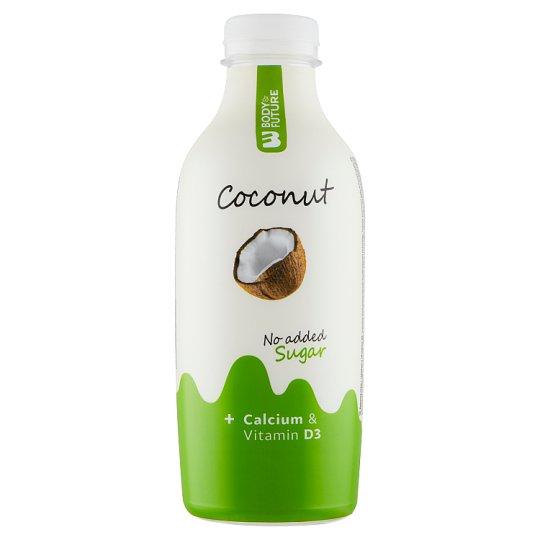 Body&Future Nesycený kokosový nápoj s vápníkem a vitaminem D3 750ml