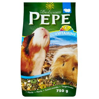 Pepe Delicious Complete Food for Guinea Pigs 750g