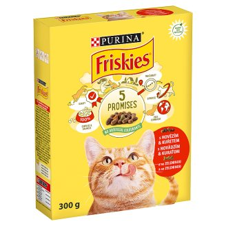 FRISKIES with Beef, Chicken and with Vegetables 300g