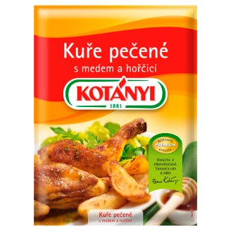 KOTÁNYI Roast Chicken with Honey and Mustard 30g