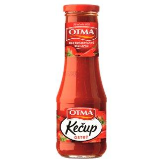 Otma Kečup tomatový ostrý 310g
