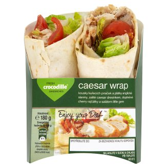 Crocodille Caesar wrap 180g