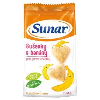 Sunárek Sušenky s banány pro první zoubky 175g