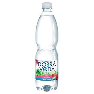 Dobrá voda Neperlivá s příchutí malina 0,75l