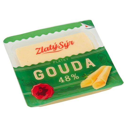 Zlatý Sýr Gouda 48% plátky 100g