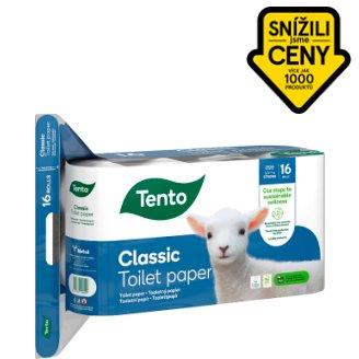 Tento Ellegance Pearl White toaletní papír 16 rolí