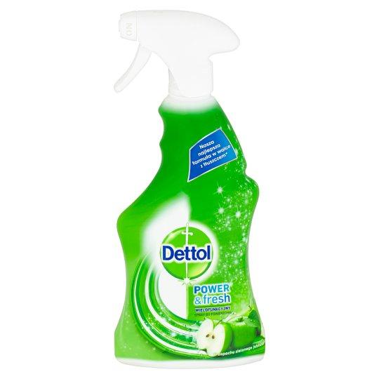 Dettol Power & Fresh antibakteriální víceúčelový sprej zelené jablko 500ml