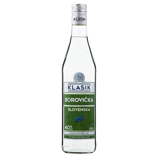 St. Nicolaus Klasik Slovenská borovička 0,5l