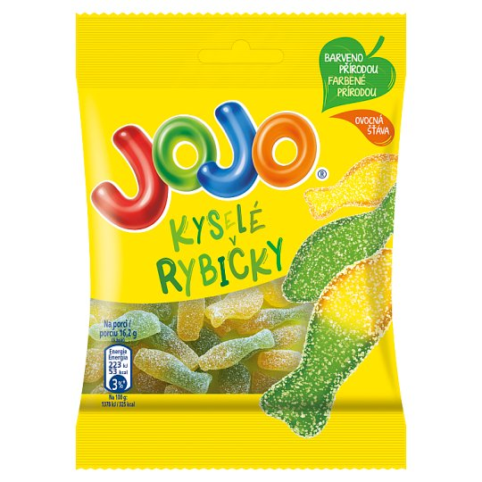 JOJO Sour Fishes 80g