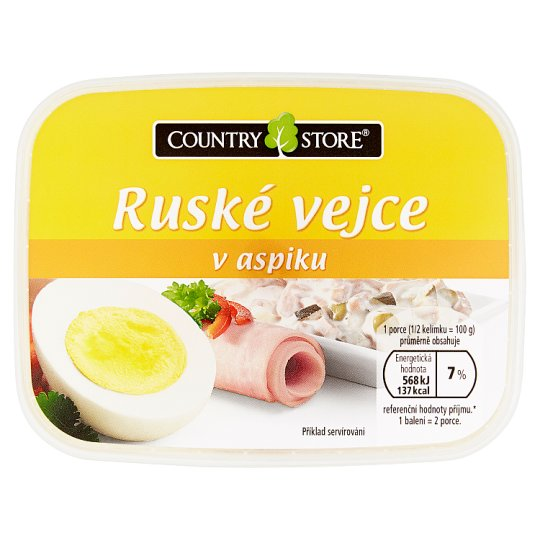 Country Store Russian Egg in Aspic 200g