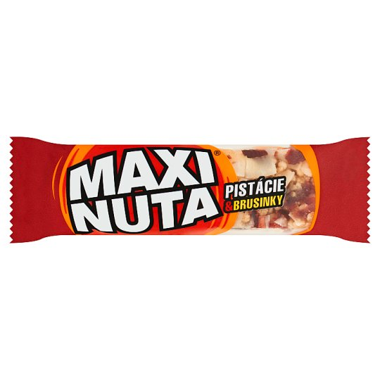 Maxi Nuta Pistachios & Cranberries Bar 35g