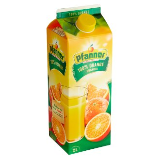 Pfanner 100% Orange Juice from Concentrate 2L