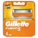 Gillette Fusion5 Holicí Hlavice Pro Muže 4Ks