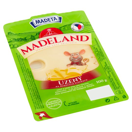 Madeta Madeland Smoked Slices 100g