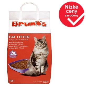 Brunos Hrudkující stelivo pro kočky 10l
