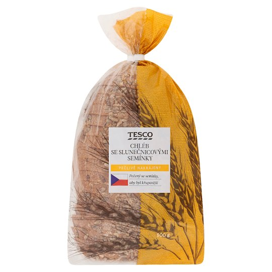 Tesco Bread with Sunflower Seeds 500g