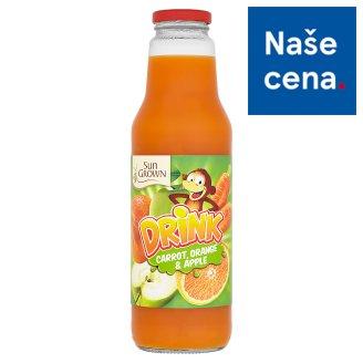 Sun Grown Nesycený nápoj mrkev, pomeranč, jablko 750ml