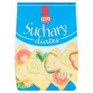 Pécé Suchary diates bez přidaného cukru 285g