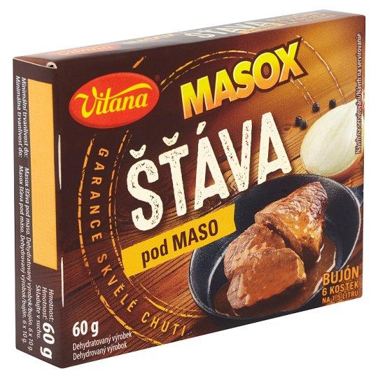 Vitana Masox šťáva pod maso bujón 6 x 10g