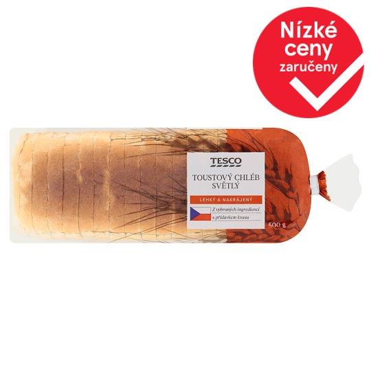 Tesco Light Toast Bread 500g