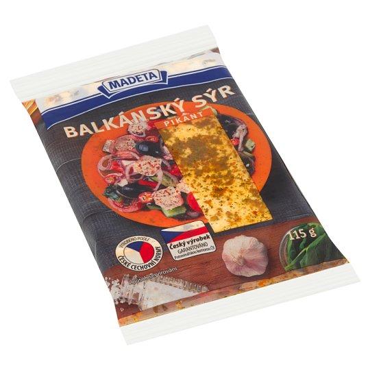 Madeta Balkánský sýr pikant 115g