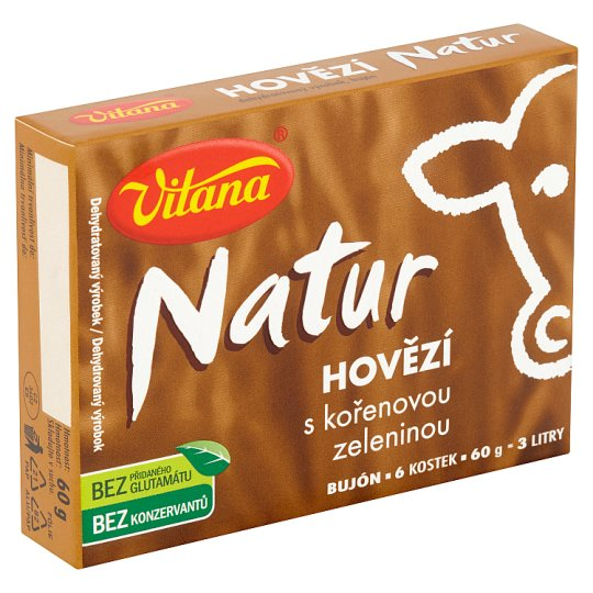 Vitana Natur Beef Broth with Root Vegetables 60g