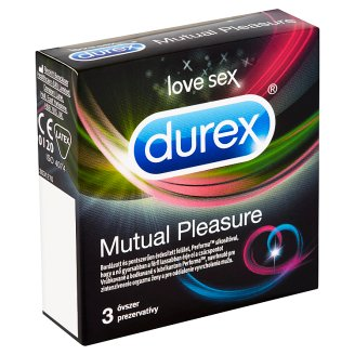 Durex Mutual Pleasure kondomy 3 ks