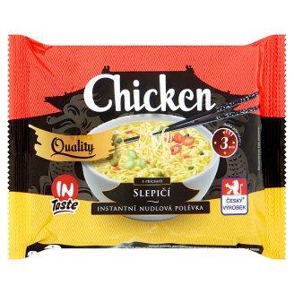 InTaste Quality Slepičí instantní nudlová polévka 65g