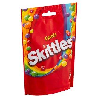 Skittles Fruits žvýkací bonbóny v křupavé krustě s ovocnými příchutěmi 174g