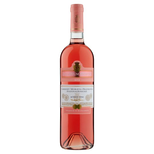Zámecké Vinařství Bzenec Cellarium Bisencii Cabernet Moravia-Blaufränkisc-Saint Laurent Wine 0.75L