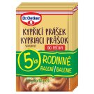 Dr. Oetker Original Baking Powder 5 x 12g