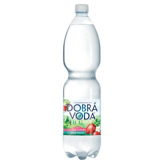 Dobrá voda Lightly Carbonated Water with Wild Strawberry Flavour 1.5L