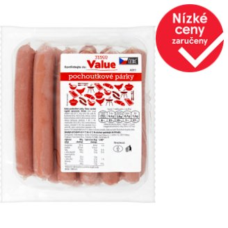 Tesco Value Delicacy Sausages 850g