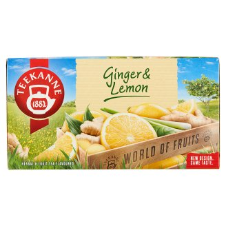 TEEKANNE Ginger & Lemon, World of Fruits, 20 sáčků, 35g