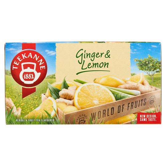 TEEKANNE Ginger & Lemon, World of Fruits, 20 sáčků, 35g
