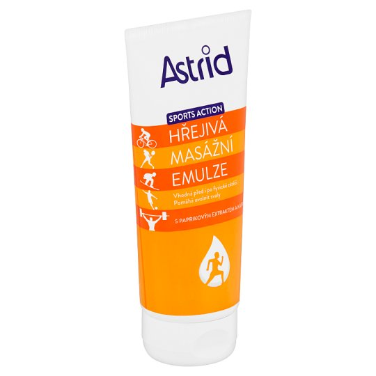 Astrid Sports Action Warming Massage Emulsion 200ml
