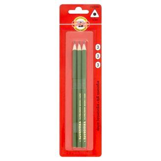 KOH-I-NOOR Triangular Graphite Pencils 3 Hardness 3 pcs