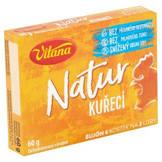 Vitana Natur Chicken Bouillon with Spring Carrots 60g